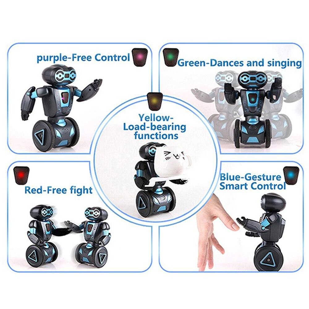 5 Modes de fonctionnement Vocal RC Robot Programmation Intelligente Télécommande Jouets Pour Enfants Enfants Cadeau D'anniversaire Électronique Jouets - 3