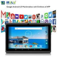 IRULU Android 6 0 7 Tablet PC 1GB RAM 8GB ROM Allwinner A33 Quad Core Dual