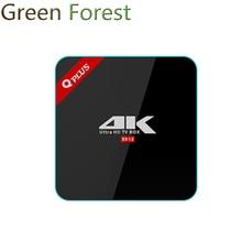 Q плюс Android TV Box OS 6.0 2 г + 16 г/3 г + 32 г S912 Octa -core cortex-A53 телеприставке media player Kodi16.1 better чем h96 Pro Plus