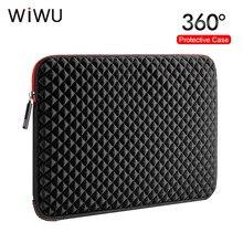 WIWU ноутбук рукав для Macbook Pro 17 17,3 дюймов водонепроницаемый нейлон противоударный ноутбук чехол сумка защитный чехол для lenovo/hp