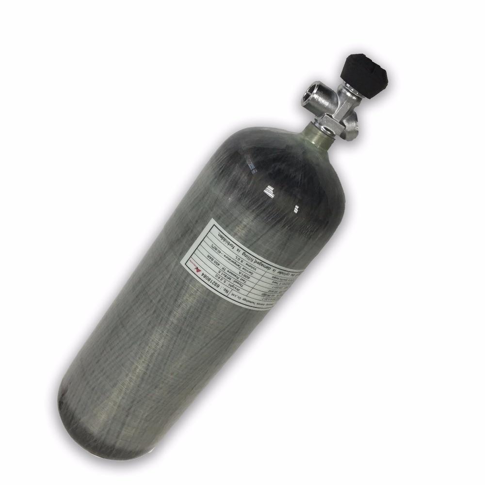 AC109101 pcp condor valve gas cylinder diving 300bar oxygen carbon fiber air tank Security & Protection softgun Acecare