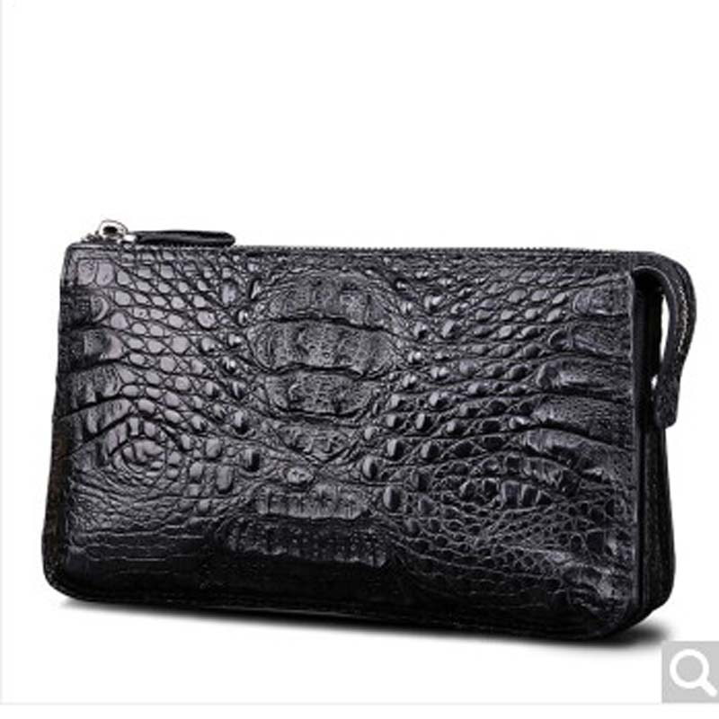 Beijue crocodile leather men clutch bag crocodile leather wallet business hand grab bag black crocodile crocodile cr225r black gold page 8