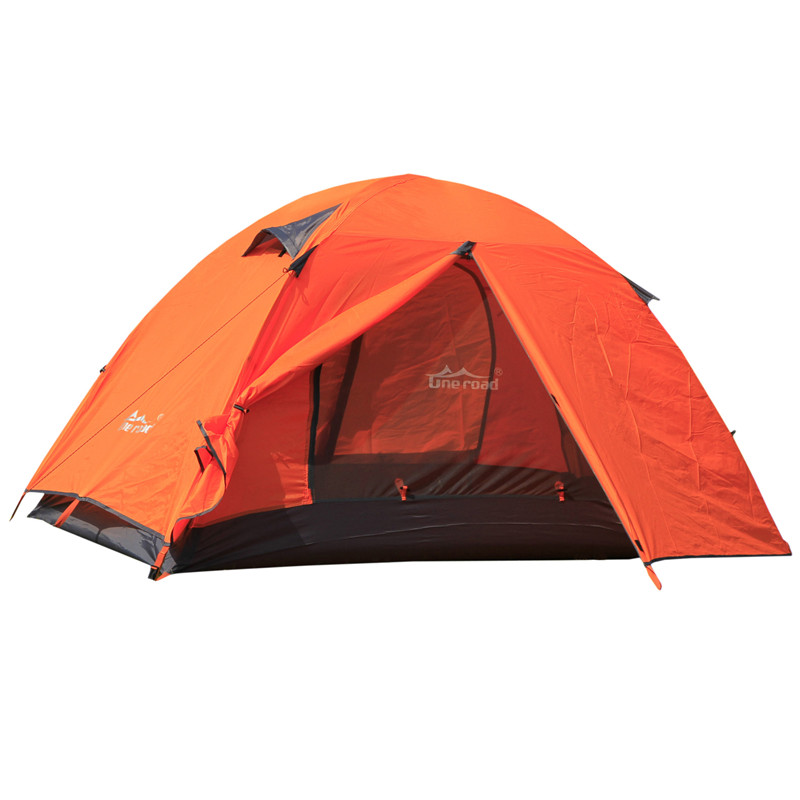 Brand 1-2 person outdoor camping tent Ultralight hiking fishing Travel double layer Couples tent aluminum rod lovers tent brand 1 2 person outdoor camping tent ultralight hiking fishing travel double layer couples tent aluminum rod lovers tent