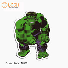 A0309 sticker green giant king crown frog girl jinx ghost suitcase laptop guitar luggage DIY skateboard bicycle toy HZ 30(China)