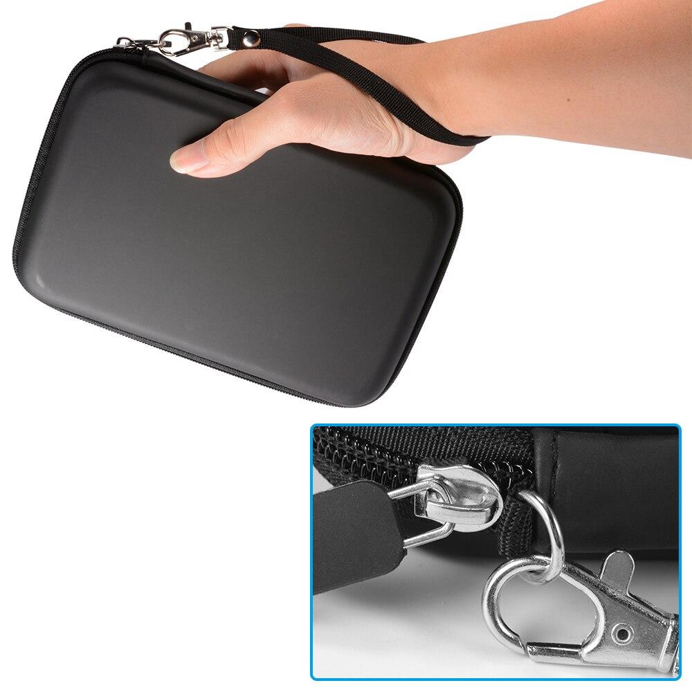 """7 """"дюймов gps-навигации сумка для хранения Защита PU eva Hard Shell коробка чехол Крышка Открытый путешествия Портативный CY831-CN"""