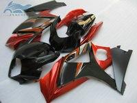 Upgrade motorcycle Fairing set for Suzuki GSXR 1000 2007 2008 GSXR1000 K7 K8 ABS street full fairings kit 07 08 red black K78|Full Fairing Kits|   -