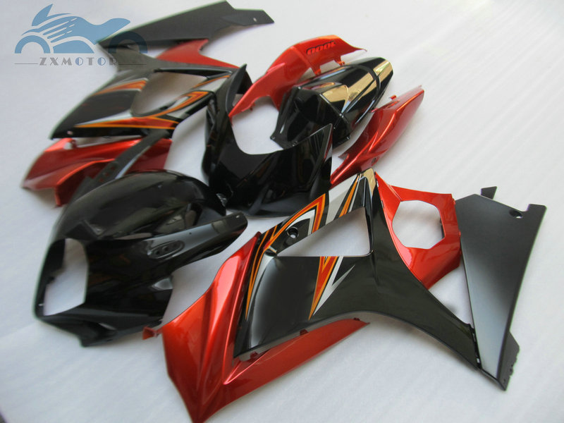Upgrade motorcycle Fairing set for <font><b>Suzuki</b></font> GSXR 1000 2007 2008 <font><b>GSXR1000</b></font> K7 <font><b>K8</b></font> ABS street full fairings <font><b>kit</b></font> 07 08 red black K78 image