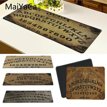 Купить с кэшбэком MaYaCa Ouija Board XL 900*400 Notbook Computer Mousepad Super Big Rubber Gaming Mouse Pads Mats