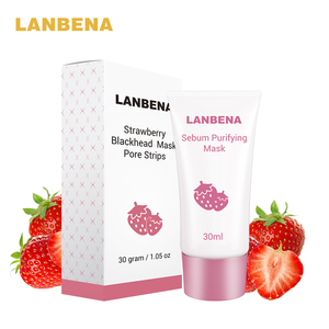 Image 5 - Strawberry Blackhead Peeling Remover Mask 30ml Deep Cleansing Purifying Acne Nose Oil Control T Zone Face Care Oil control Mask