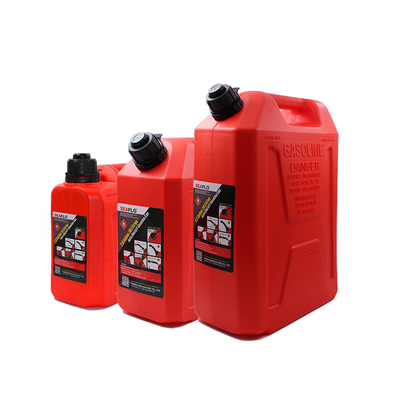 Réservoir de carburant portatif rouge/jaune/vert de moteur de bateau 5L/10L/20L