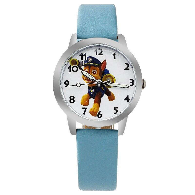 o2 10pcs/lot Wholesales Hot Sales Discount Price Cartoon Kids Children Boys Watch Quartz leather Alloy Wristwatch