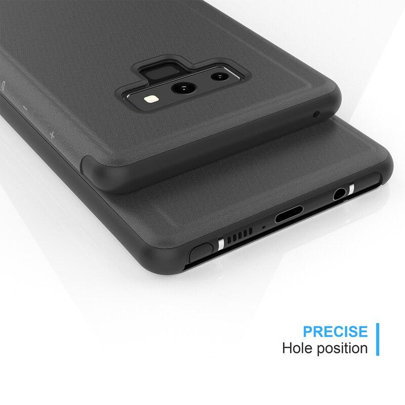 Samsung Galaxy Note 9 Mirror Flip Case 6