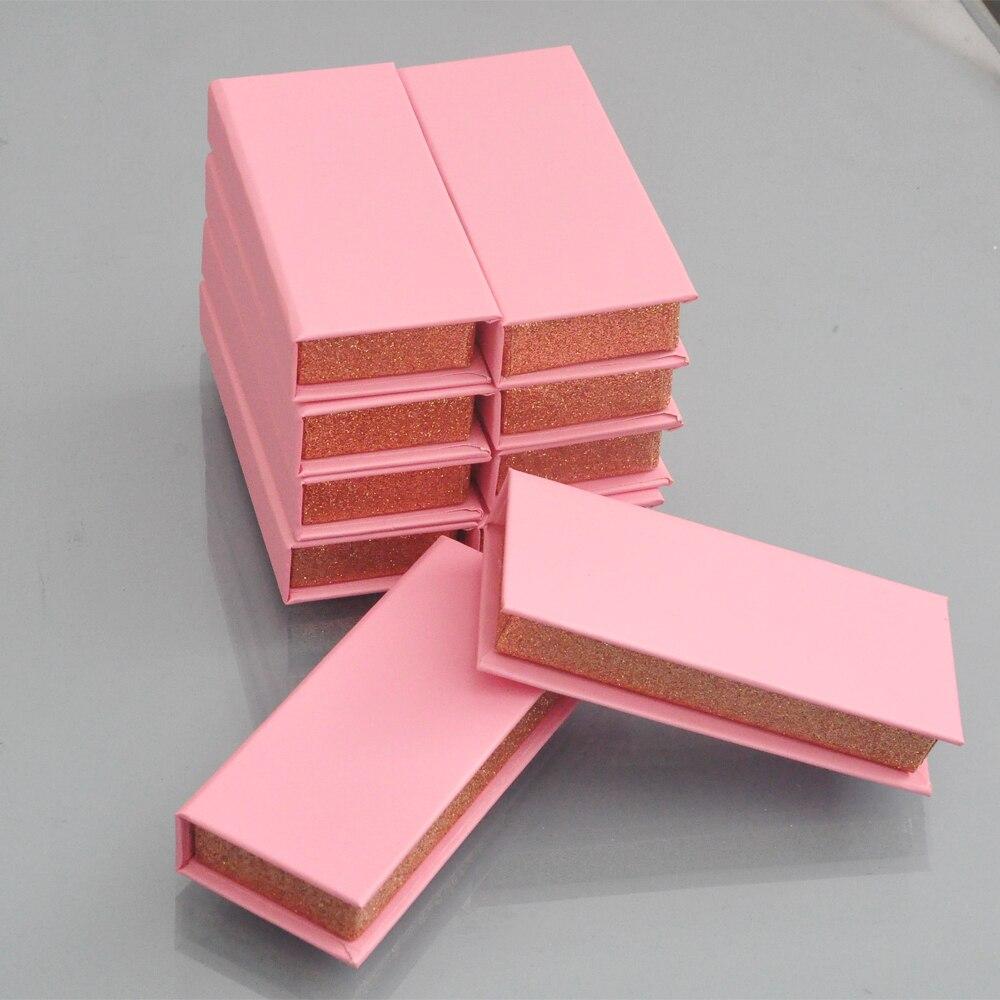 300 pacote caixas feitas sob encomenda do chicote que empacotam a caixa da pestana com o