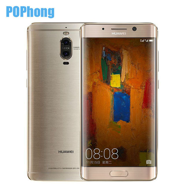Stock Original Huawei Mate 9 Pro 5.5 inch 2K Screen Mobile Phone Dual SIM Android 7.0 Kirin 960 Octa Core 6GB 128GB LTE Infrared