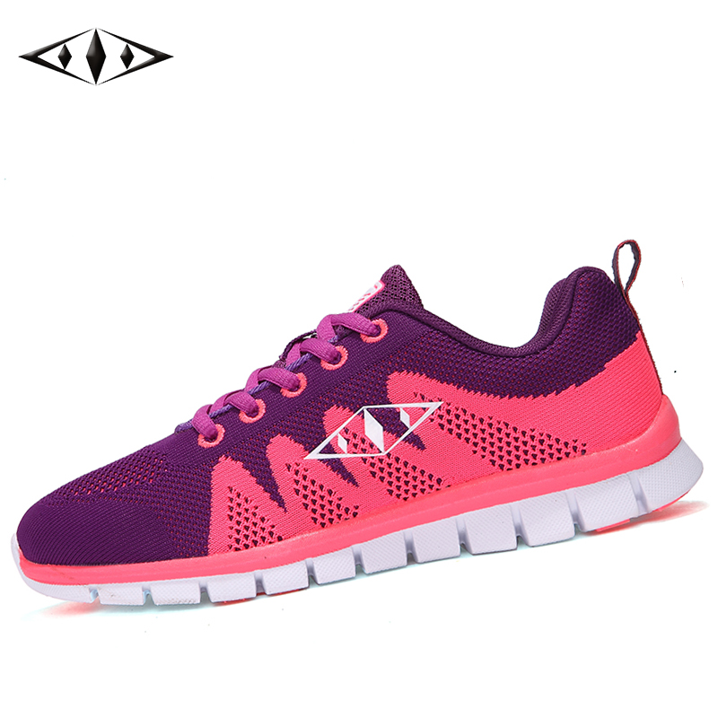 2016 LEMAI Aroma of Spring Women Sneakers Autumn Breathable Fly Wire Cool Running Shoes Outdoor Sport Shoes fb010-4