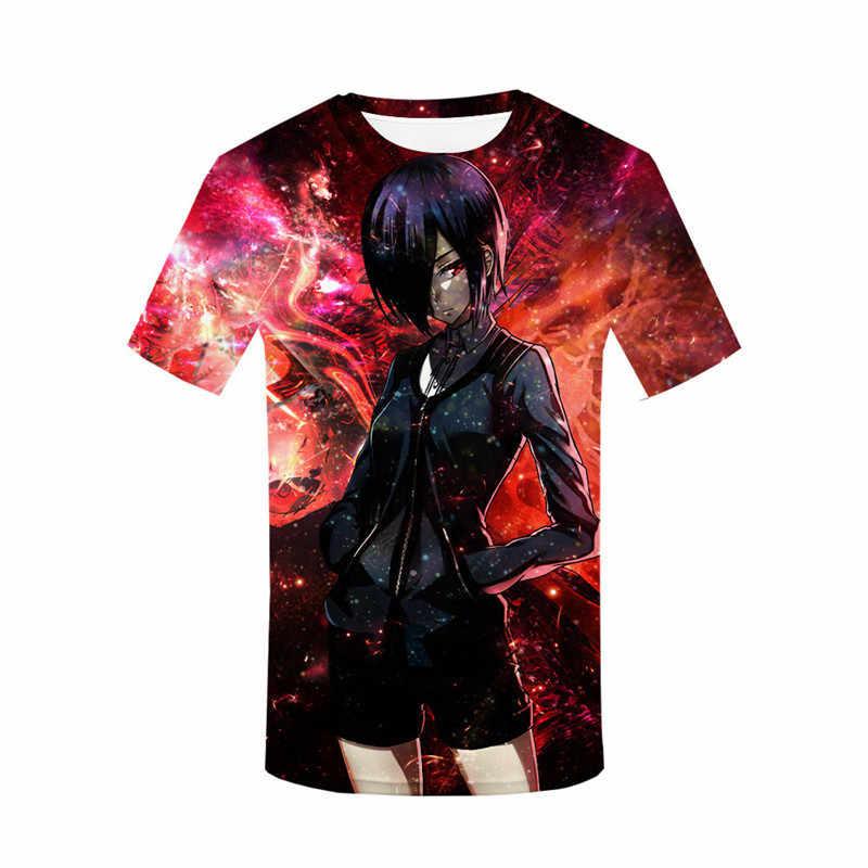 Новинка 2019 года, модная футболка с 3d принтом, Мужская футболка с изображением японского аниме, футболка с изображением японского аниме, футболки с изображением японского аниме, одежда для мальчиков и девочек