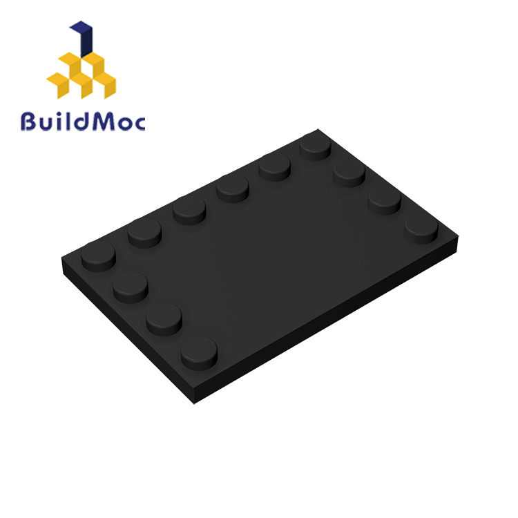 BuildMOC Compatible Assembles Particles 6180 6x4 For Building Blocks Parts DIY LOGO Educational Creative Gift Toys
