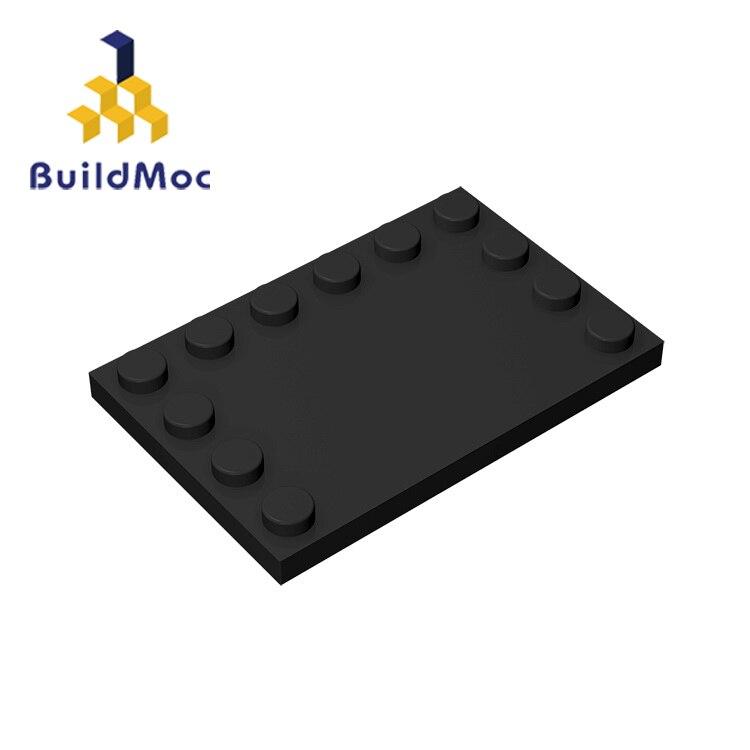 BuildMOC Compatible Assembles Particles 6180 6x4 For Building Blocks Parts DIY LOGO Educational Creative Gift Toys
