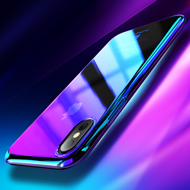 Floveme For Iphone X 10 2017 Blue Ray Case For Iphone 8 7