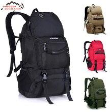 Outdoor 50L Sports Bag Large Capacity Men Travel Bag Mountaineering Backpack Hiking Camping Waterproof Bag
