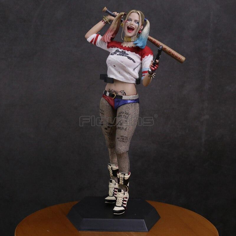 Сумасшедшие игрушки отряд самоубийц Харли Квинн 1/6 th весы Коллекционная Фигурка модель игрушки 28,5 см
