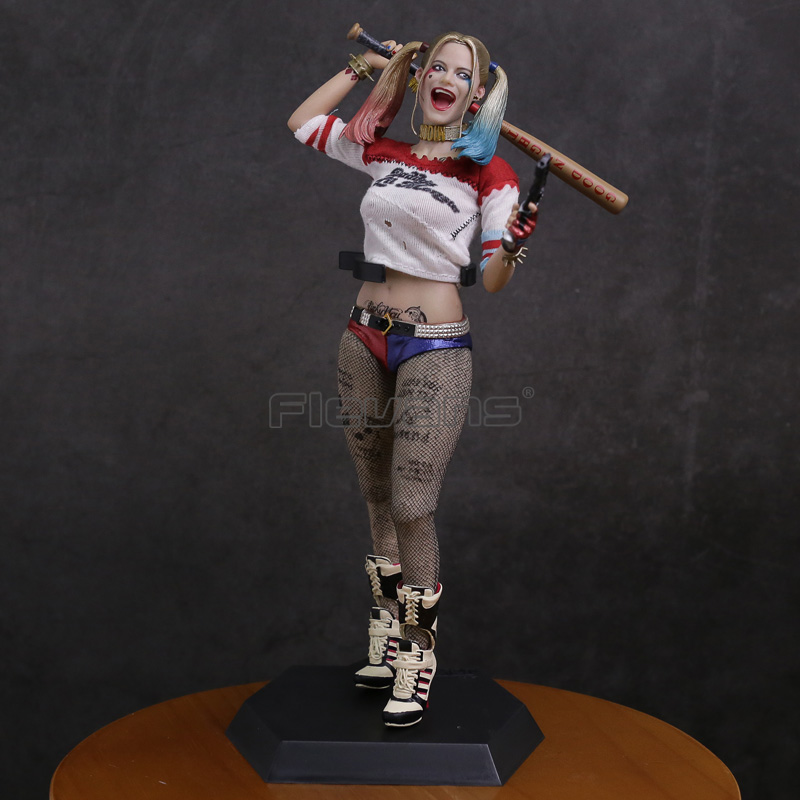 Crazy Toys Suicide Squad Harley Quinn 1/6 Th Scale Collectible Figure Model Toy 28.5cm