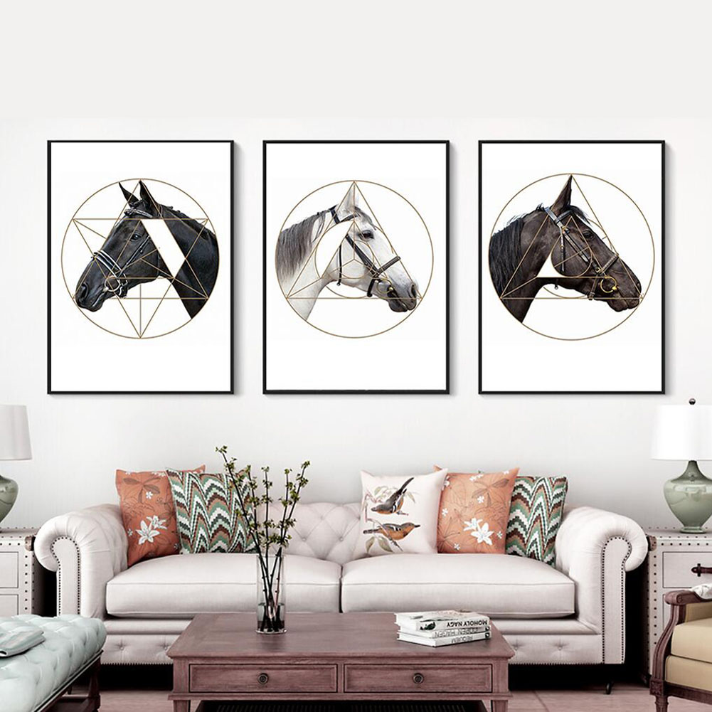 3 Panel Canvas Print Wall Art Painting For Living Room