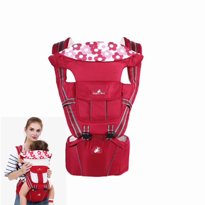 High Quality Ergonomic Baby Carrier 0-30m Breathable Baby Carrier Backpack For ChildrenS Waist Stool Baby Kangaroo Carrier 2017