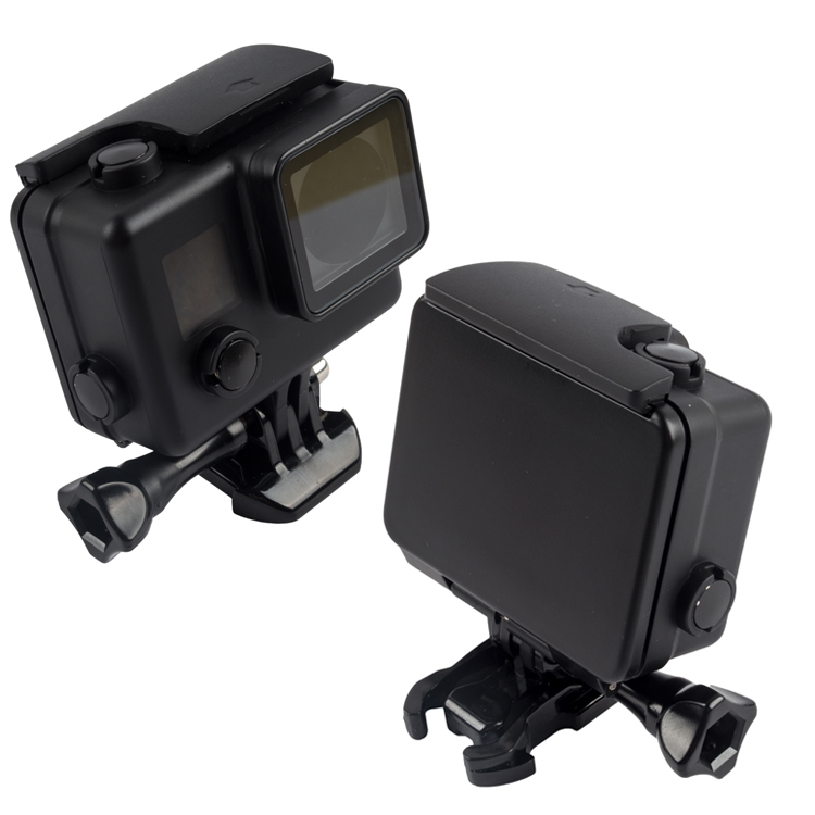 Snorkeling Diving Waterproof Case for Gopro Hero 4 3 3 Camera Black Protective Case GoPro Hero 4 Accessories in Sports Camcorder Cases from Consumer Electronics