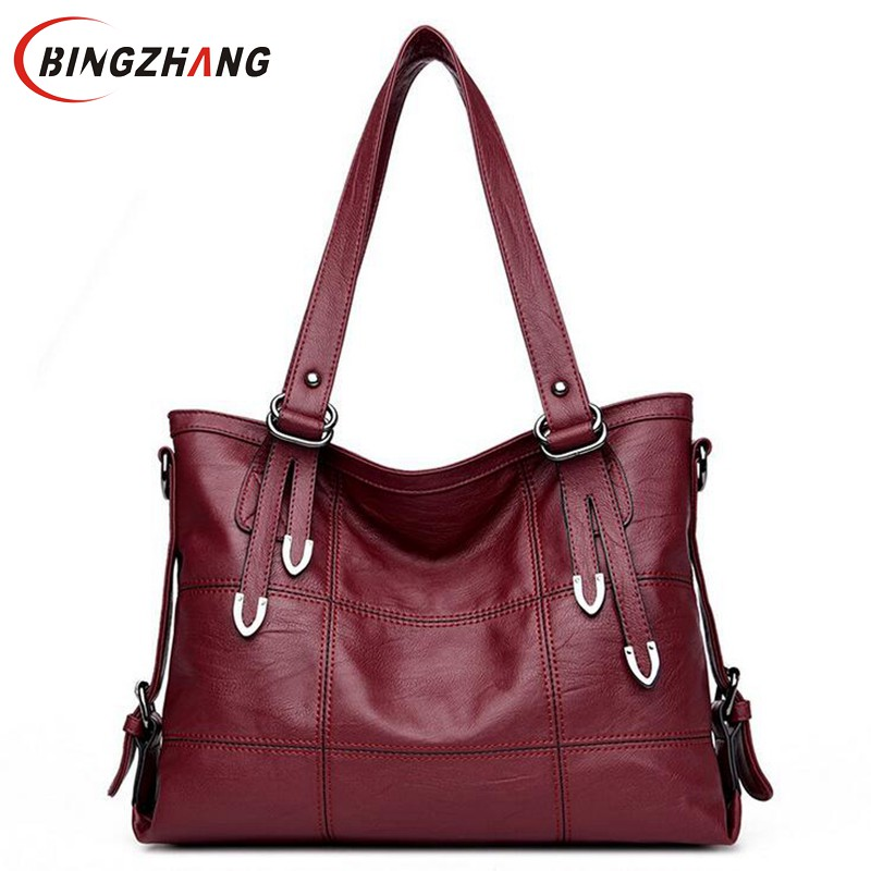 Four arrows Lady Top-handle bags handbags women famous brands female Stitching casual Big shoulder bag Tote for girls L4-3046 free shipping 10pcs nt68167ufg