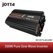 цена на 300W WATT DC 12V to AC 220V pure sine wave Portable Car Power Inverter Adapater Charger Converter Transformer