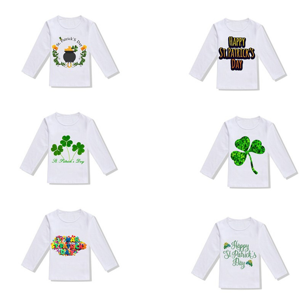 T-Shirt Blouse National-Day-Tops Toddler Baby-Girls Lothing Boys Children's Warm Casual
