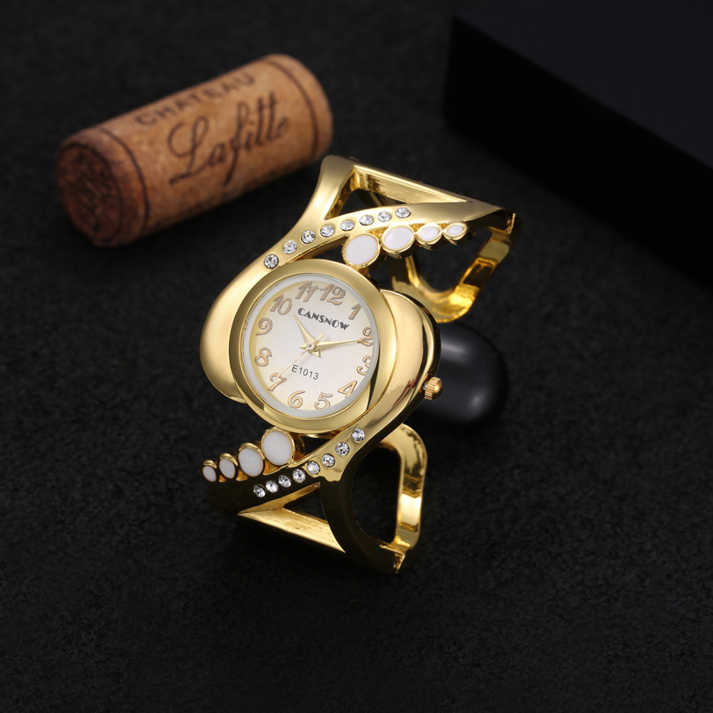 New design women bangle wristwatch quartz crystal luxury relojes rhinestone fashion female watches hot sale eleagnt mujer watch 16