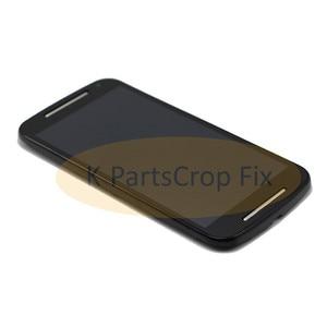 Image 5 - G2 lcd dla Motorola MOTO G2 LCD XT1063 XT1064 XT1068 XT1069 wyświetlacz ekran dotykowy Digitizer + rama Bezel zgromadzenie