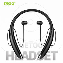 Sago New Bluetooth Earphones In-ear Stereo Wireless Earpiece Bluetooth Earbuds Sweatproof Earphones for iPhone 8 7/6/7Plus/6Plus(China)