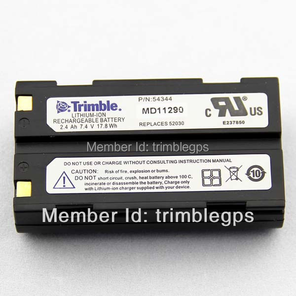 Trimble Li-Ion 2.4Ah, 7.4V Battery for R8/R6/5800/5700 2400mah 6pcs combo ext battery for trimble 5700 5800 r7 r8 gps receiver