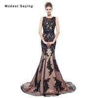 Elegant Mermaid Lace Evening Dresses 2017 Lace Up Back New Fashion Women Engagement Birthday Party Prom