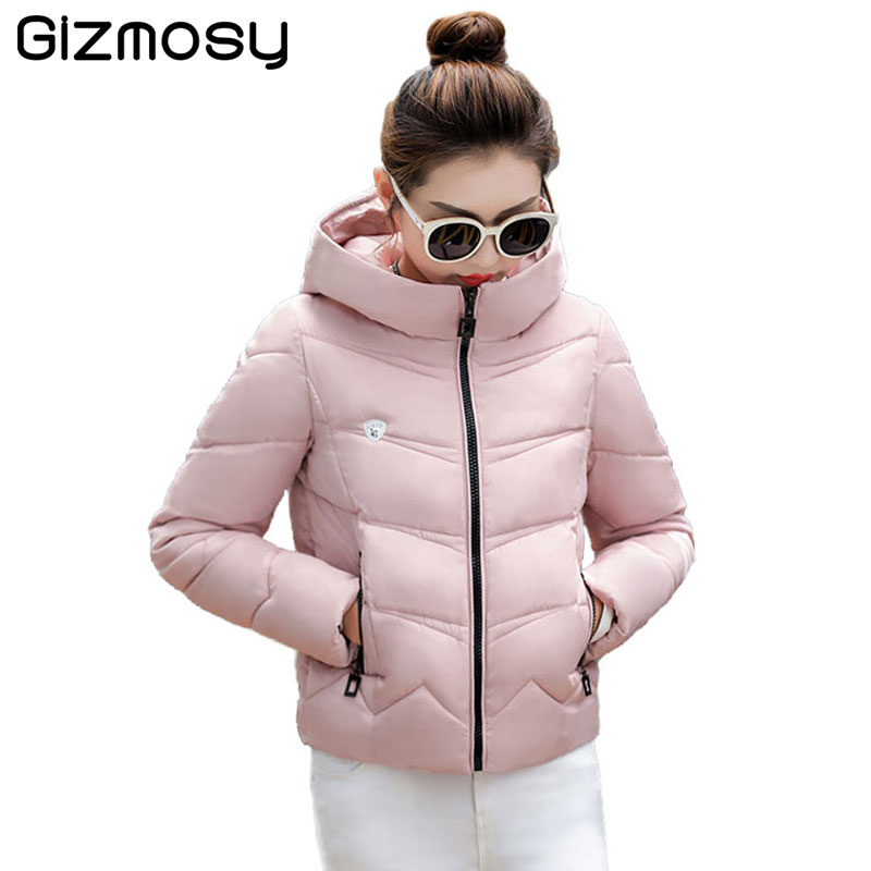 1PC Plus Size Winter Jacket Women Winter Coat Hooded Parka Jaqueta Feminina Chaquetas Mujer Casacos De Inverno Feminino SY1549