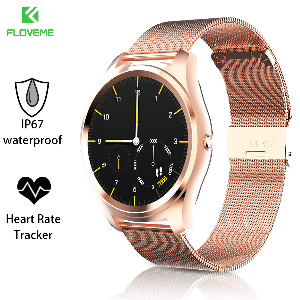 FLOVEME K7 Smartwatch Bluetooth Wristband For IOS Android Phones Support Multi Languages Heart Rate IP67 Waterproof