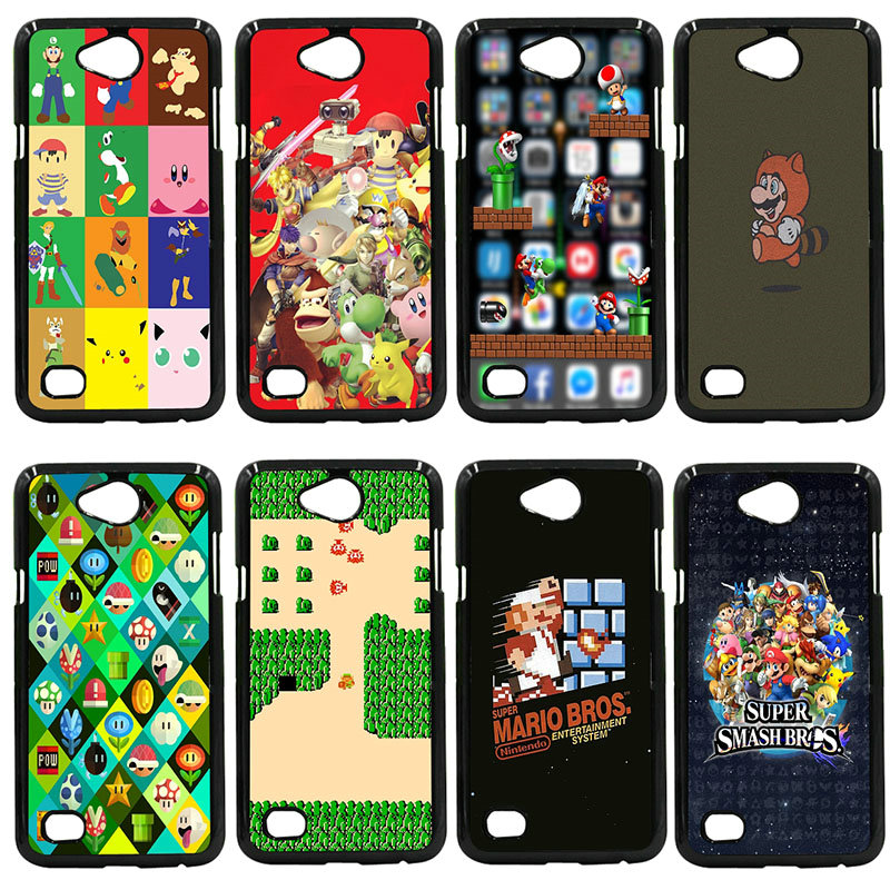 Funny Super Marios Bros Mushrooms Hard Phone Cases Cover For LG L Prime G2 G4 G5 G6 G7 K4 K8 K10 V20 V30 Nexus 5 6 5X Pixel