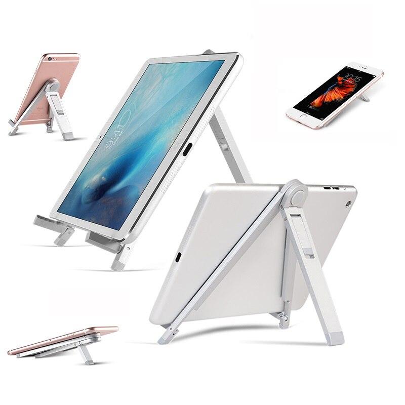 OKCore Universel Bureau Cellulaire Mobile Téléphone Support métallique Support Trépied Debout Pour Smartphone Accessoires Pour iPhone iPad Tablet