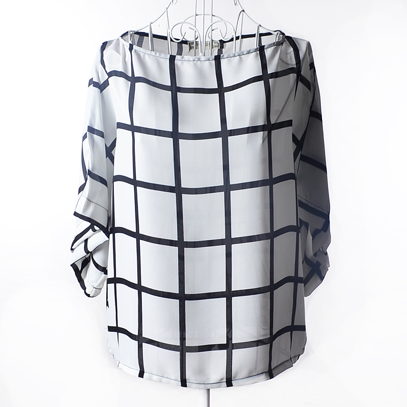 Popular Plaid Shirts for Women Black and White-Buy Cheap Plaid ...