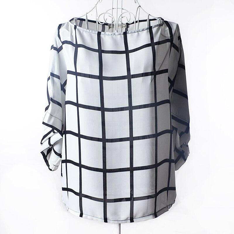 Popular Plaid Shirts for Women Black and White-Buy Cheap Plaid ...