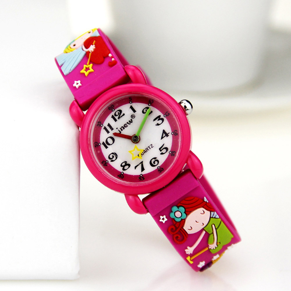Children's Watches Fashion Children Casual Quartz Watches Colorful Flowers Waterproof Jelly Kids Toys Clock Boys And Girls Students Watch With Traditional Methods