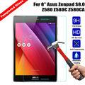 Для ASUS Zenpad S 8.0 Z580 Z580C Z580CA 8 дюйма Tablet Закаленное Стекло-Экран Протектор Премиум Передняя Ясно Защитная Пленка крышка