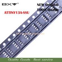 5 pçs/lote attiny13 attiny13a tiny13a mcu avr 1 k flash 20 mhz ic ATTINY13A SSU sop 8