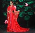 2017 hanfu свадебное dress династия тан костюм женский национальный одежда танец костюм