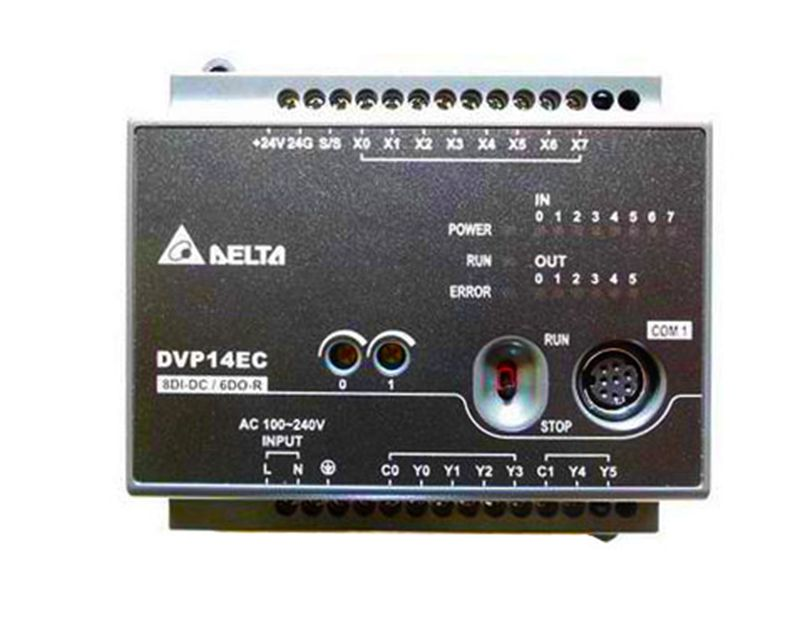 New Original DVP14EC00R3 Delta PLC EC3 series 100-240VAC 8DI 6DO Relay output new original dvp20ec00r3 delta plc ec3 series 100 240vac 12di 8do relay output