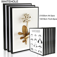 11 Pcs/Set Metal Picture Frame For Wall Hanging 7 Inch A4 Aluminium Photo Frame Picture Gift Recommendation Home Decor