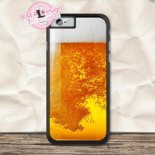Beer Funny Pattern Protective Case For iPhone X 8 7 6 6s Plus 5 5s SE 5c 4 4s For iPod Touch